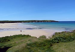 The beautiful north Cornish coast near Padstow