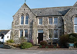 Exterior of the School House in Padstow